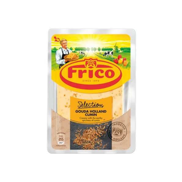 Frico Gouda Cumin Tranches Cheese Slice 150 g