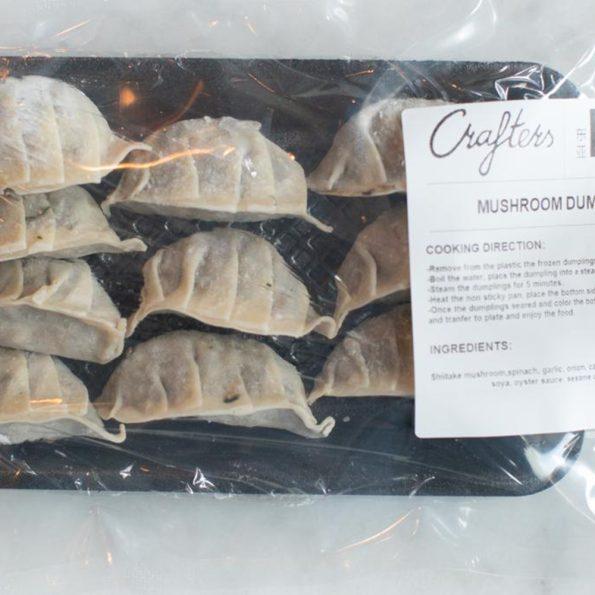 mushroom dumplings