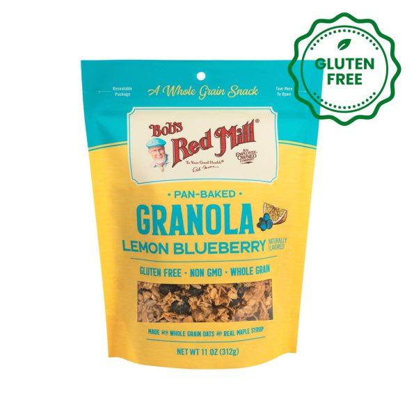 granola lemon